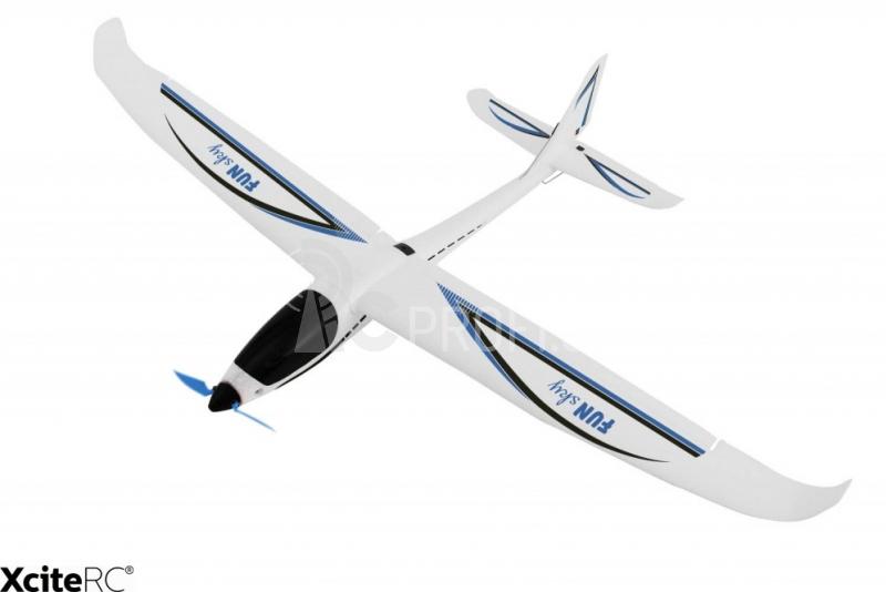 RC letadlo FunSky, modrá