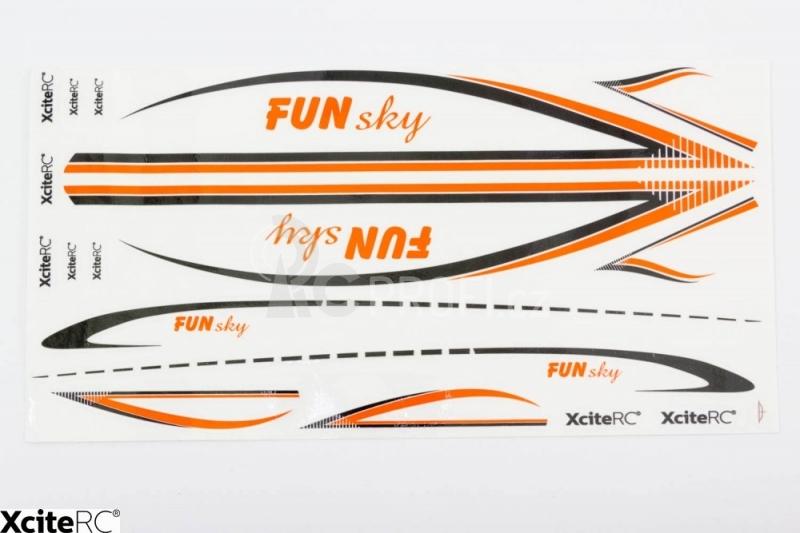 RC letadlo FunSky, oranžová
