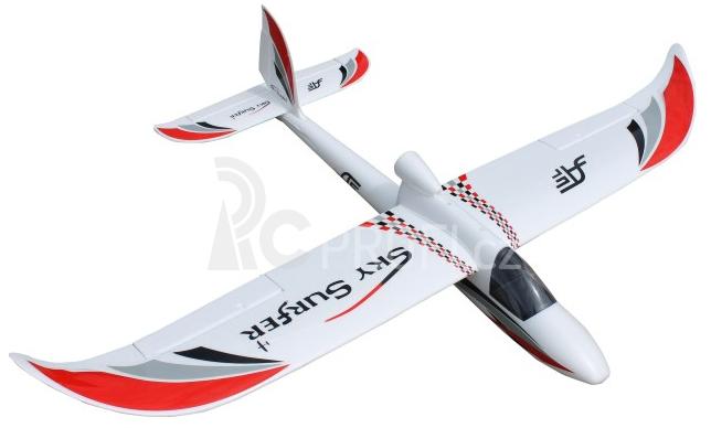 RC letadlo SKY SURFER V2, červená