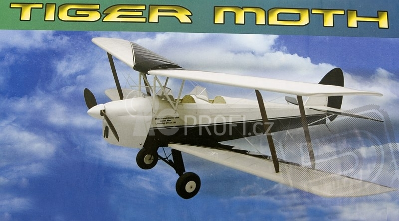 RC letadlo Tiger Moth