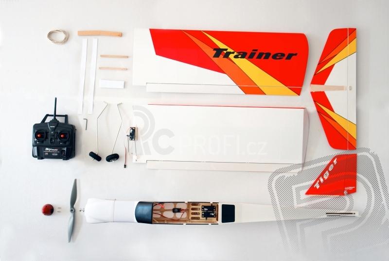 RC letadlo Tiger Trainer , mód 1