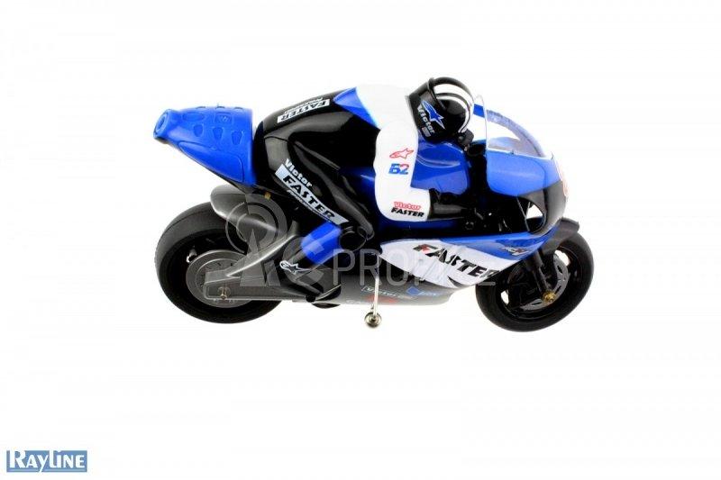 RC motorka R29 s gyroskopem, modrá