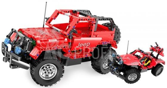 RC stavebnice Jeep Wrangler 2v1