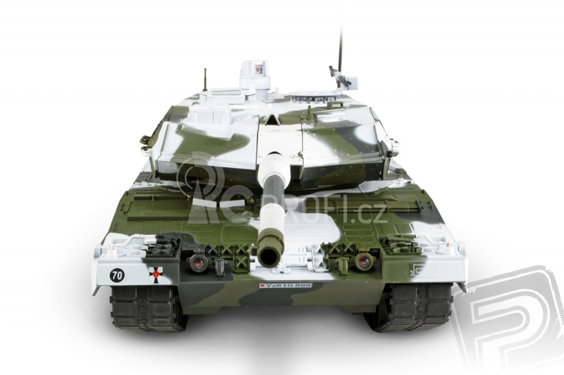 RC tank Leopard 2A6 1:16 - zimní verze