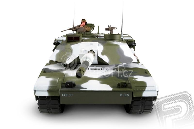 RC tank M1A1 Abrams 1:16 - zimní verze