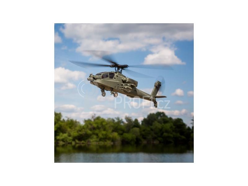 RC vrtulník Blade Micro Apache AH-64 RTF Mód 2