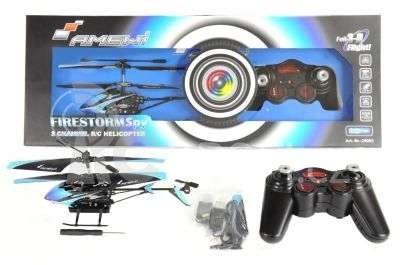 RC vrtulník Firestorm Spy s kamerou