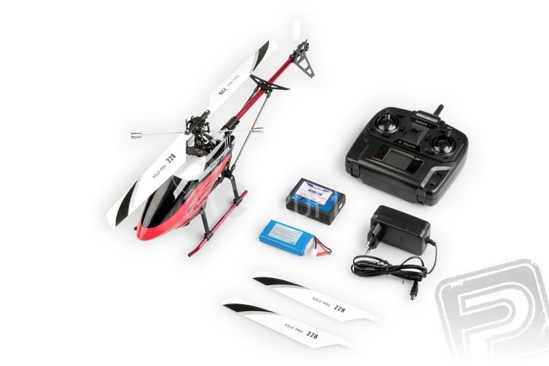 RC vrtulník Solo Pro 228P