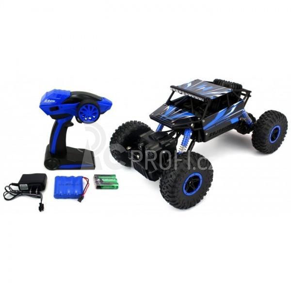 RC auto CONQUEROR 4x4, modrá