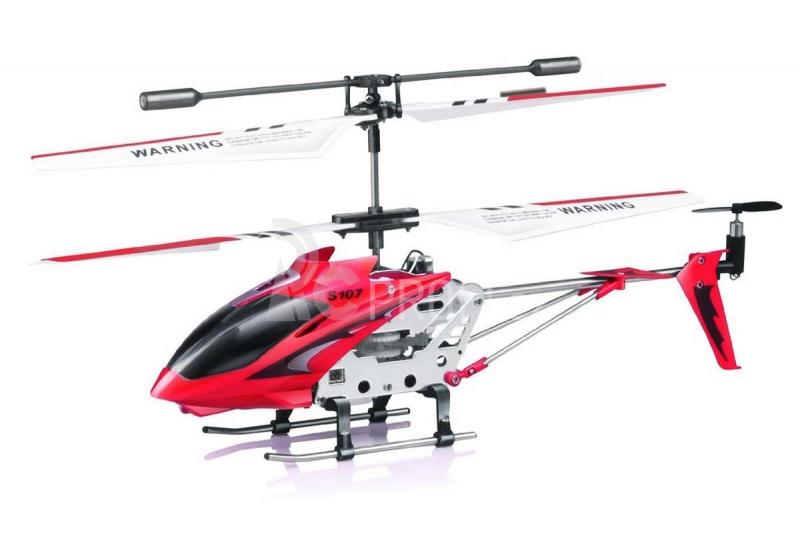 RC vrtulník Syma S107, červená
