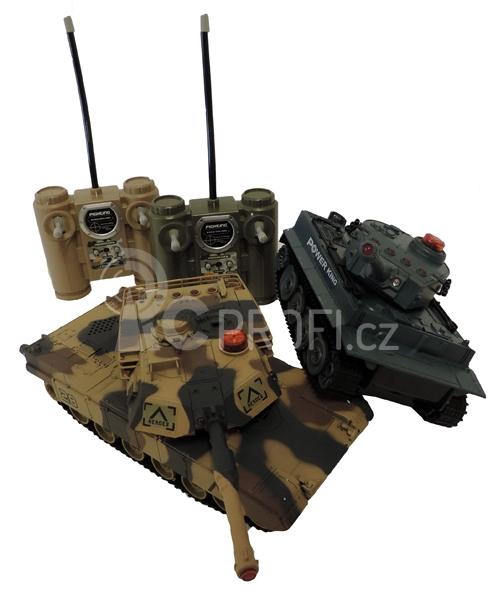 RC Sada infra tanků 2 v 1