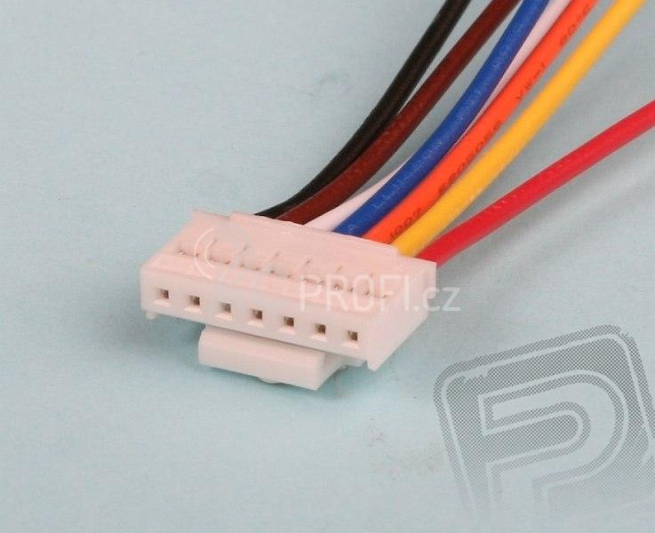 servisní konektor THUNDER (6 čl.)