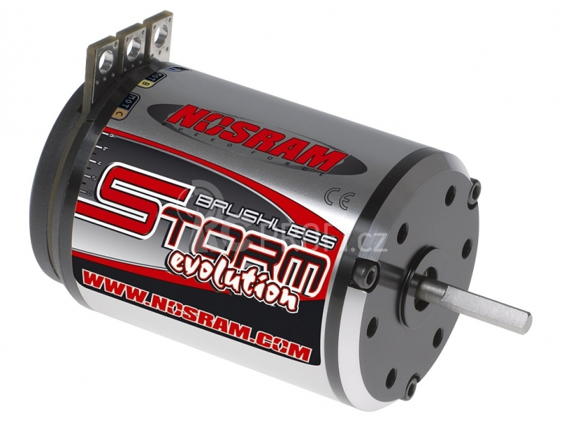 STORM EVOLUTION Brushless Modified 4,0 závitový motor