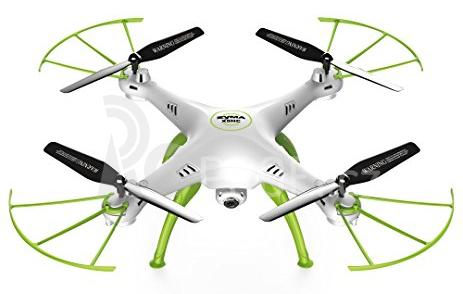RC dron SYMA X5HC, bílá