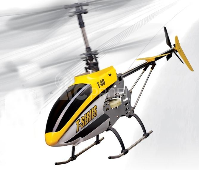 RC vrtulník MJX T640C, žlutá