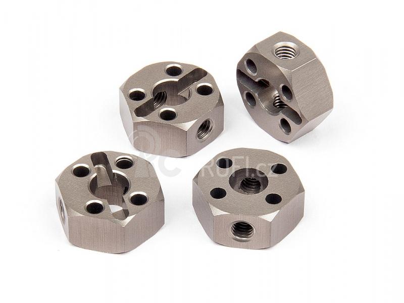Unašeč kola 12mm/4pcs) - hliníkový